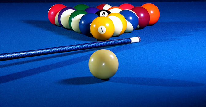 Blue Pool Table. Orlando Based, Central Florida Pool Table Movers